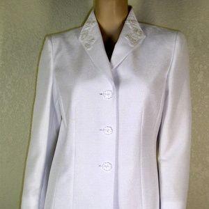Le Suit NWT Caribbean Jacket Blazer Skirt Suit
